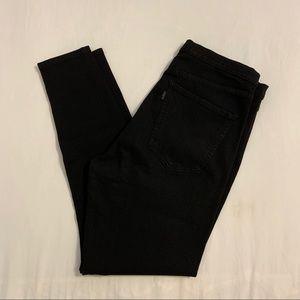 Levi's skinny legging jeggings high waist black